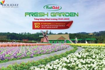 Fresh Garden – Điểm Check in Mới Toanh tại Đà Lạt 2019
